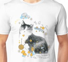 cat design t-shirt Unisex T-Shirt