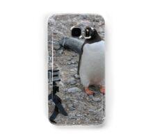 Gentoo Penguin in Antarctica & Go Pro - 4  Samsung Galaxy Case/Skin