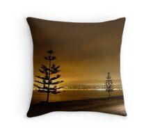Napier, New Zealand Throw Pillow