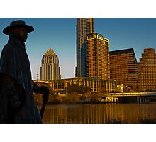Stevie Ray Vaughan Always in Austin 2010 Photographic Print