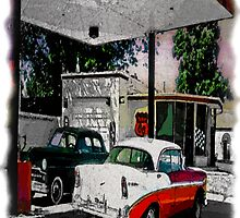 Vintage gas by jackzen1969