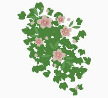 Cherry Blossom - Forest Green Kids Clothes