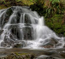 Christie Falls - Lower Basin by Rick Ruppenthal