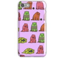 Family of Cats iPhone Case/Skin