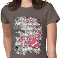 Bubble Gum Womens Fitted T-Shirt