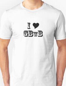 GBwB 'Love' Logo Unisex T-Shirt
