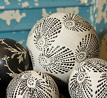 Porcelain Balls by Tracy Riddell
