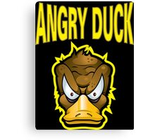 Angry Duck Canvas Print