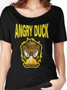 Angry Duck Women's Relaxed Fit T-Shirt