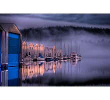 Marina Morning Sunrise Photographic Print