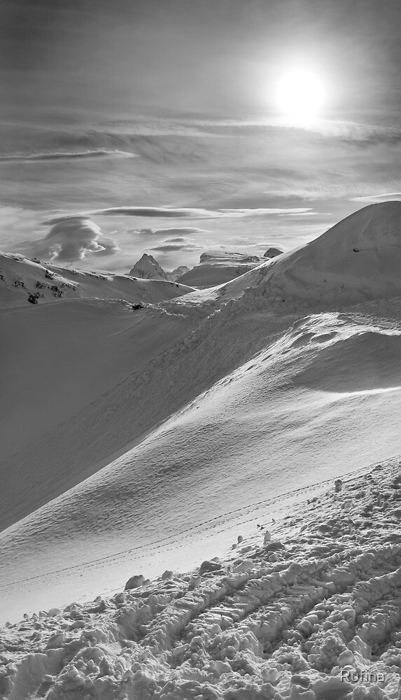 Snowy Peak by Rufina