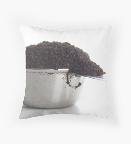 Grinder fresh Throw Pillow