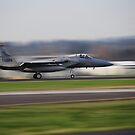 Oregon Air Guard F-15 Scrambled by Bob Hortman