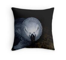 Mean Bird!!! Throw Pillow