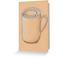 Electronic Mug Greeting Card