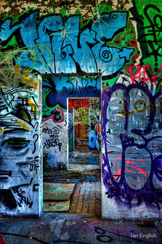 Tram Shed Doors 2 by Ian English