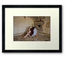 Raw Emotion - Self Portrait Framed Print