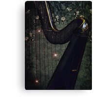 Strings of my Heart Canvas Print