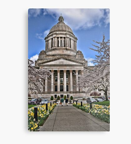 Legislative Building ~ Washington State Metal Print