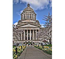 Legislative Building ~ Washington State Photographic Print