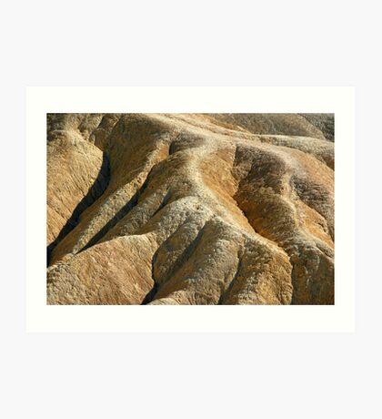 Death Valley ... Smoldering Woman Art Print