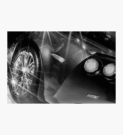 ZR1 Corvette Photographic Print