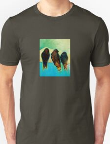 Birds at Sunrise Unisex T-Shirt