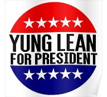 Yung Lean For President Poster