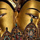 goldfaces. mcleod ganj, india by tim buckley | bodhiimages