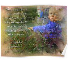 Childs Garden Poster