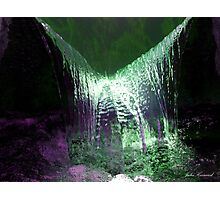 Liquid glow Photographic Print