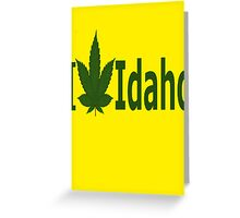 0210 I Love Idaho Greeting Card