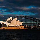 Sydney sunrise by David Petranker