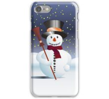 Snowman for Xmas iPhone Case/Skin