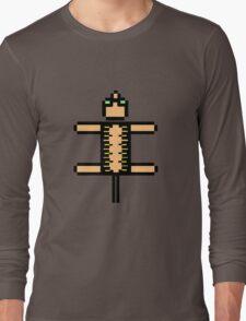 PIXEL ART CAT Long Sleeve T-Shirt