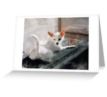 My Little Cutie ~ Maggie May Greeting Card