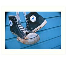 Converse All Star 1 Art Print