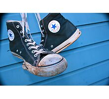 Converse All Star 1 Photographic Print