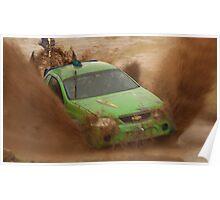 Mud Racing Poster
