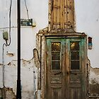 Upstairs Door And Lamp: Antalya Old Town, Turkey by Josh Wentz
