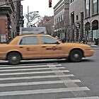 Taxi in New York by Ashley Salazar