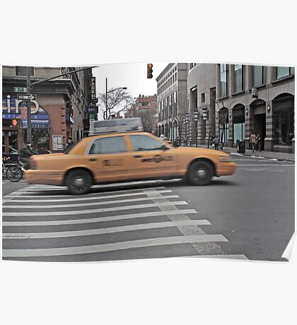 Taxi in New York Poster