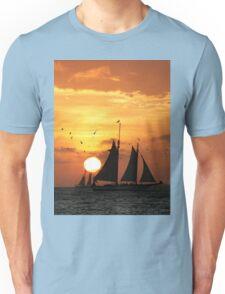 Sunset Sail in Key West II Unisex T-Shirt