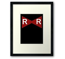 Red Ribbon Army Framed Print