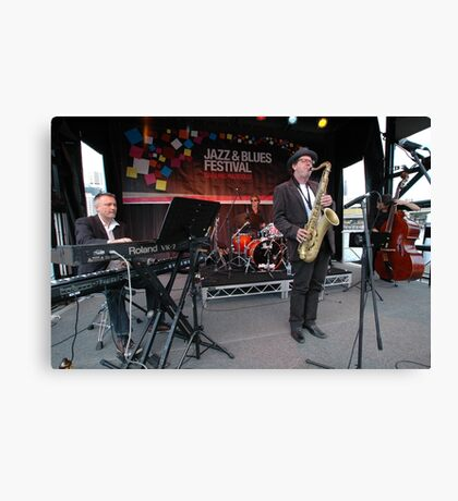 James Valentine Band @ Jazz & Blues Festival Canvas Print