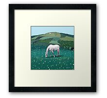 The White Horse of Alfriston Framed Print