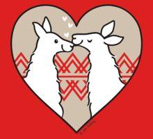 Llama Love  Baby Tee