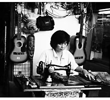 Thai Tailor Photographic Print