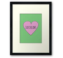 I LOVE DAY DREAMS Framed Print