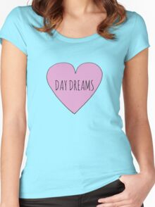 I LOVE DAY DREAMS Women's Fitted Scoop T-Shirt